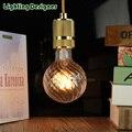 G95 lâmpada abóbora levou forma de bulbo de vidro Edison do bulbo da lâmpada 220 V-240 V 4 W pingente lâmpada lâmpada de mesa lâmpada do bulbo