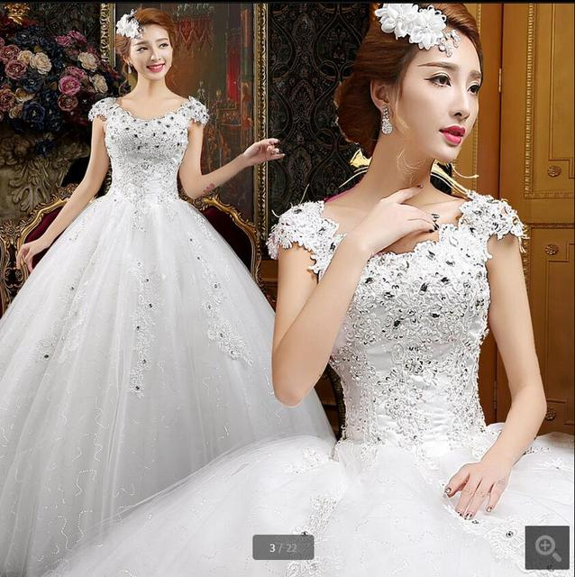 047fd73b60a 2017 new designer ball gown white modest cap sleeve wedding dress muslim  arabic women vinatge bride gowns Robe De Soiree