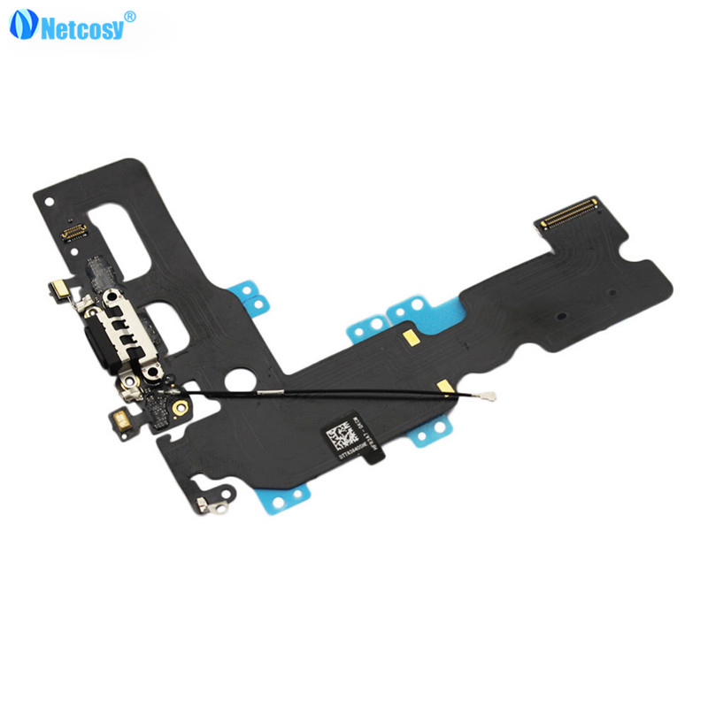 Netcosy USB Charger Charging Connector Dock Port Flex Cable Replacement for iPhone7 For iPhone 7 Plus Phone Accessories Parts