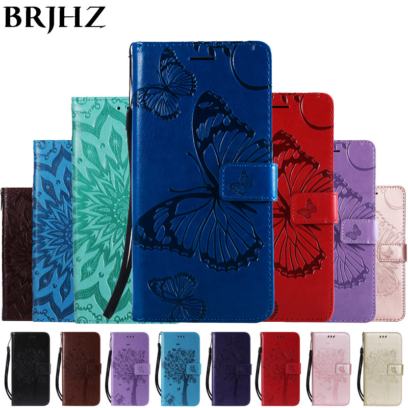 Note 9 Flip Leather Case on For Fundas Samsung Galaxy Note 9 Case For Coque Samsung Note 8 Cover 3D Embossing Wallet Phone Cases