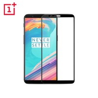 Original OnePlus 5T Glass 3D Full Cover Tempered Glass Screen Pprotector For One Plus 5T Full
