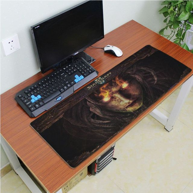 Yinuoda Simple Design Starcraft Game Rubber Desktop Mousepad Size for 180*220 200*250 250*290 300*600 and 400*900*2mm 3