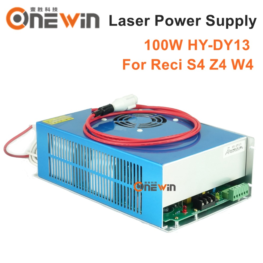high quality DY13 laser power supply S4 Z4 W4 CO2 laser tube cloudray dy13 co2 laser power supply for reci z4 w4 s4 co2 laser tube engraving cutting machine