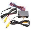 Новое Интеллектуальное управление видео переключатель камеры автомобиля (автомобиль видео автоматическое переключение) подключения передней или боковой/задней камеры