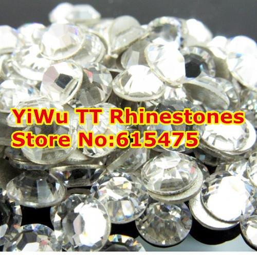 SS40 Crystal color 144pcs Non Hotfix Rhinestones 8.4mm 40ss crystal flatback Nail Art