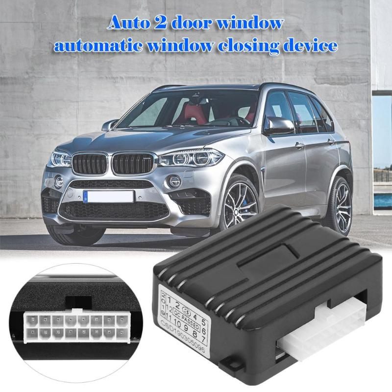 ​Auto Safety Power Window Roll Up Closer Module For 2 Door 12V  Two-Window Car Power Off Car Alarm System Easy To Install(China)