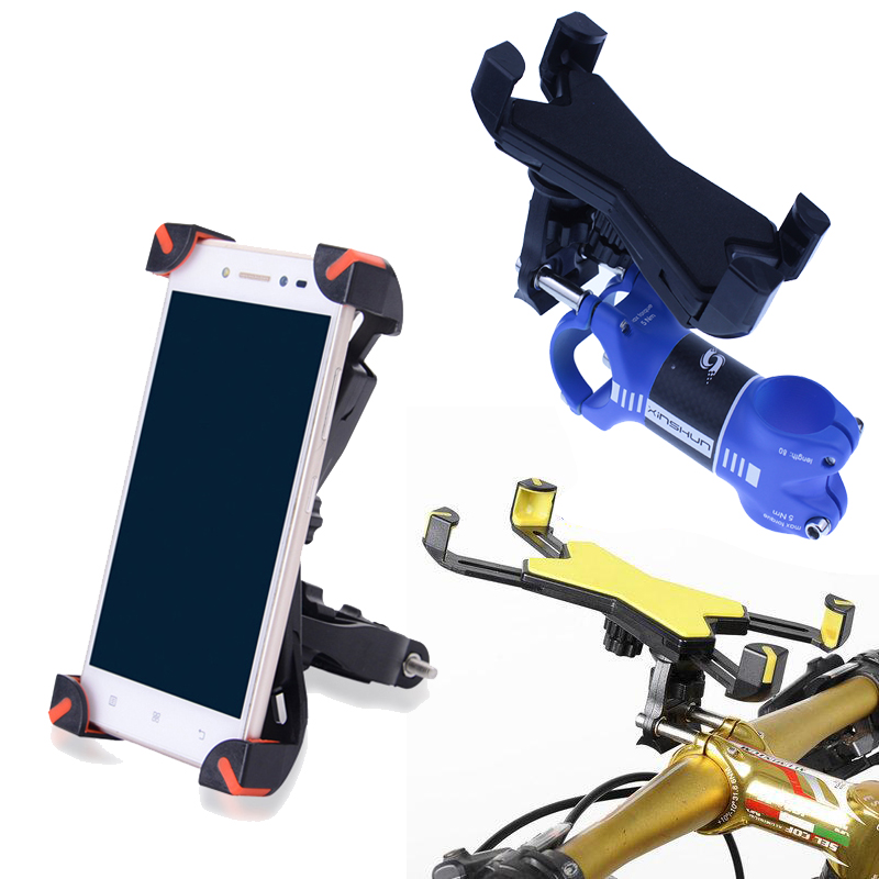 Universal Bike Phone Holder Bicycle computer stand Handlebar Mount Holder for 3.5-7.0 inch screen phone Cycling Accessories