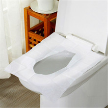 10pcs NEW Single Use Toilet Seat Covers Anti-fungal Lid Top Cover Closestool Bathroom Travel