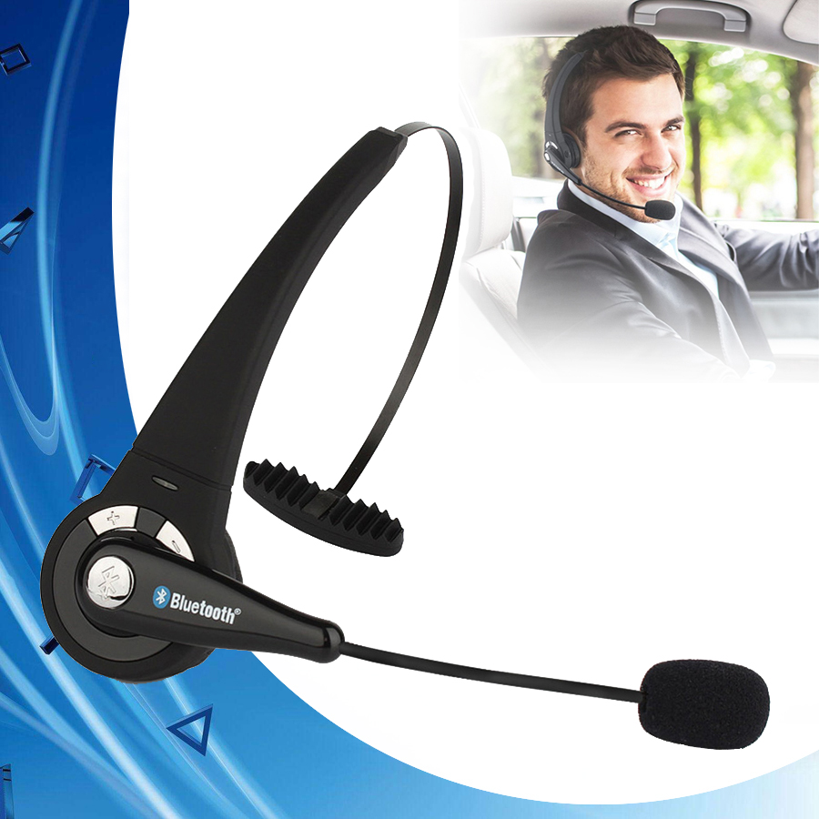 BTH-068 Universal Bluetooth Wireless Professional Gaming Headset Headphone Player for PS3 PC With Mircophone Smart Phones