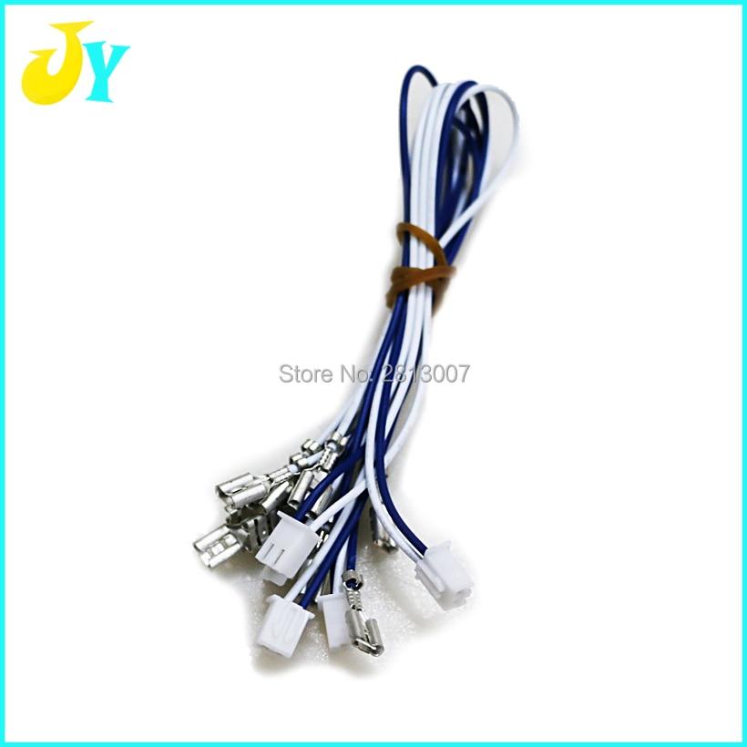 20 шт 20 см 2pin кабель 4,8 Размер обжимной клеммы подключение к HAPP стиль кнопки джойстик