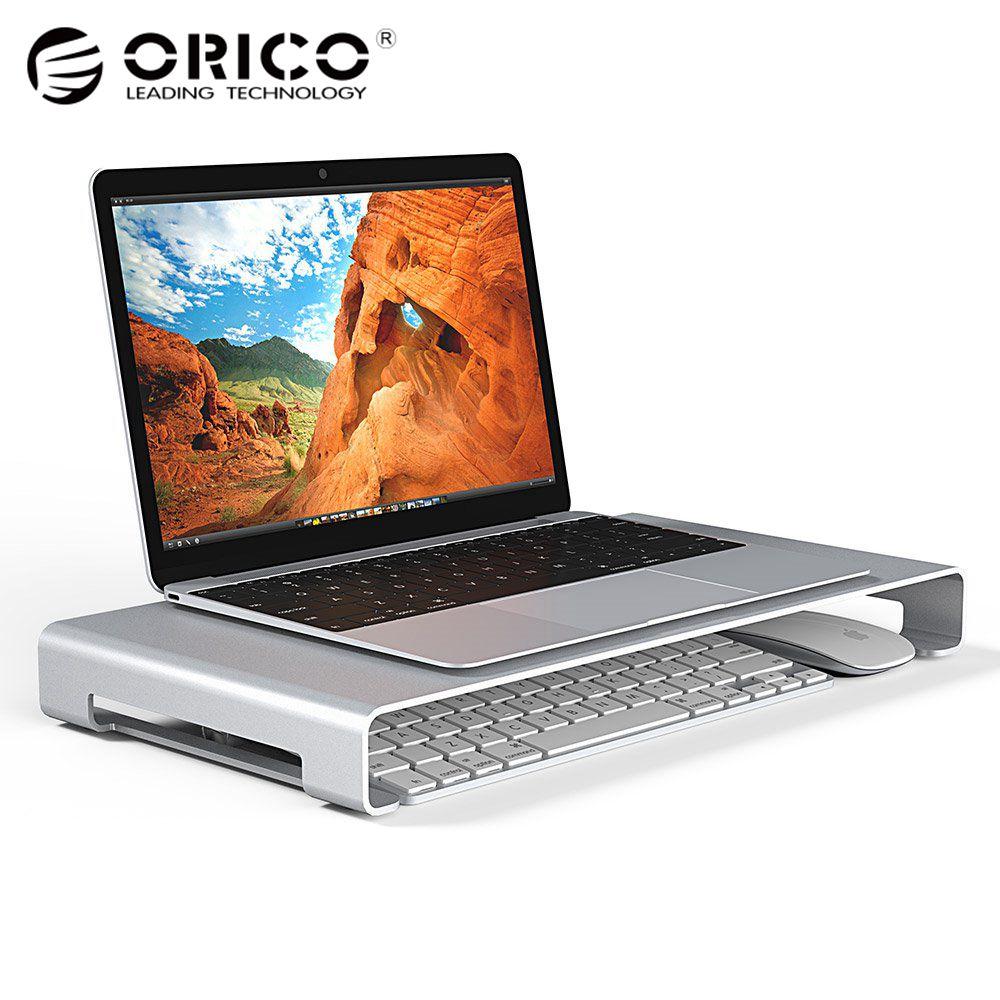ORICO Aluminum Laptop Stand Desk Dock Holder Bracket for Apple iMac/Tablet/ MacBook Pro/PC/Notebook Base Portable Computer Stand wood birch computer monitor riser stand dock holder for imac notebook laptop pc