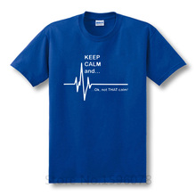 """Funny geek """"Keep Calm and… Ok, not THAT calm!"""" t-shirt"""