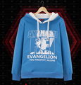 New Evangelion EVA  You are not alone camouflage Cosplay Costume jacket coat  hoodie coat