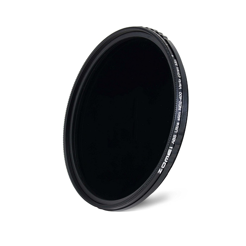 Image 2 - ZOMEI ABS Slim Adjustable Filtro Neutral Density ND2 400 Filter  For DSLR Camera Lens No X Pattern In The Middle Of The PictureCamera  Filters