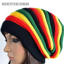 цены HANGYUNXUANHAO Men Women Skiing Warm Winter Hats Knitting Skating Skull Caps For Woman Turtleneck Beanies Hat Snowboard Ski Cap