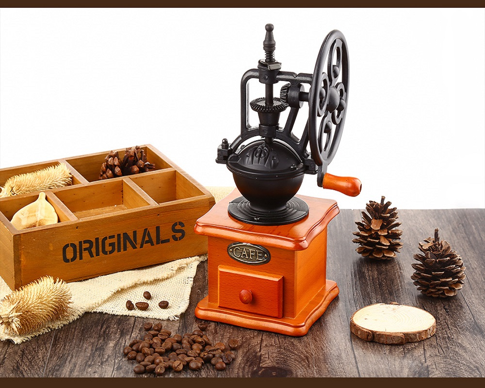 Electronic Office Coffee Machines Reviews office coffee machines reviews online shopping retro style burr grinder hand grinding machine crank roller elegant and novelty for home bar
