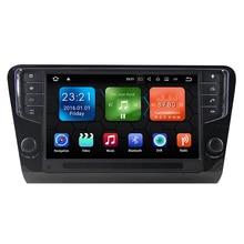 9″ Android 8.0 Octa Core 4GB RAM 32GB ROM Car Radio Audio Sat Nav Head Unit for Skoda Octavia 2014 2015 2016 2017