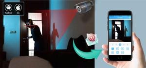 Image 2 - MISECU 4CH 5 1 DVR AHD ビデオ監視システムで 720 1080P 1080 1080P AHD カメラ屋外防水ホームビデオ監視システム HDD