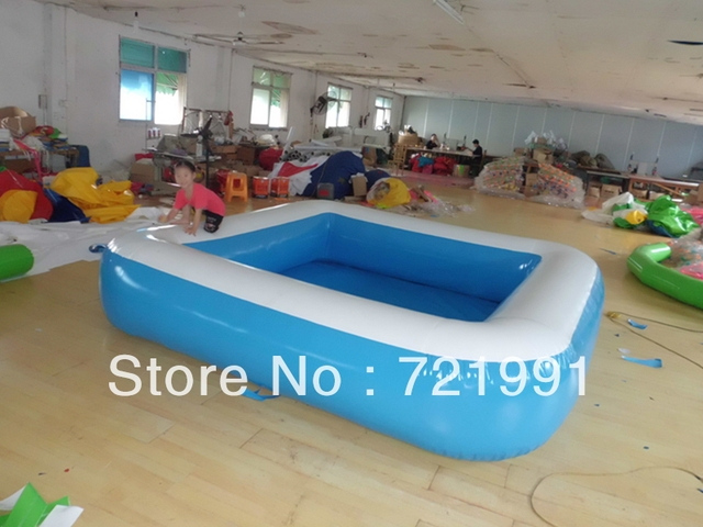 blue / white  / 0. 7/0. 9 PVC mesh folder  / Fish pond /  inflatable swimming pool / factory outlets