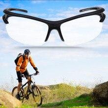 Спорт для прогулок, верховой езды, езды на велосипеде Uv400 Защита солнцезащитные очки Прозрачный