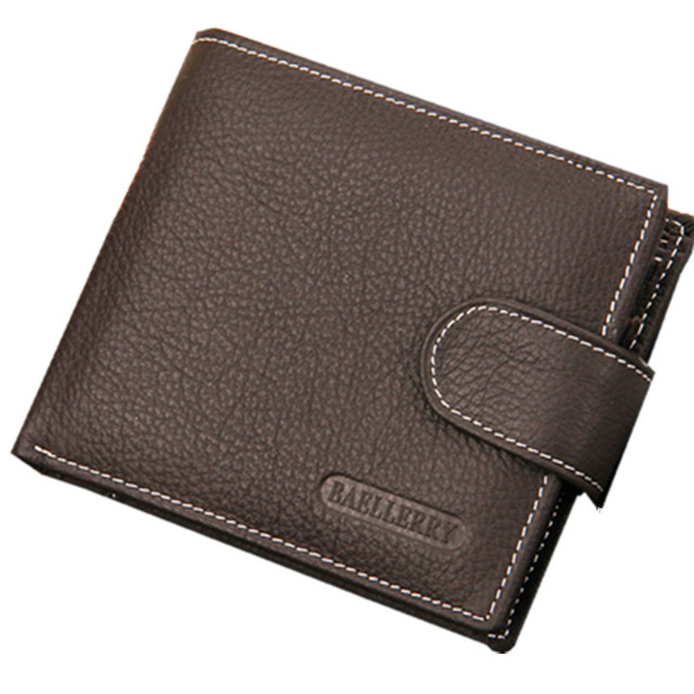 Vintage Wallet  Bag 2016 Fashion Men Wallets Famous Brand Zipper Wallet Leather Mens Wallet Male Purse With Coin Bag