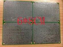 شحن مجاني 10 قطعة قناع الأخضر pcb 6*8 سنتيمتر pcb مزدوجة الجانب HASL 1.6 سميكة 1.27 الملعب العالمي لوحة دوائر كهربائية