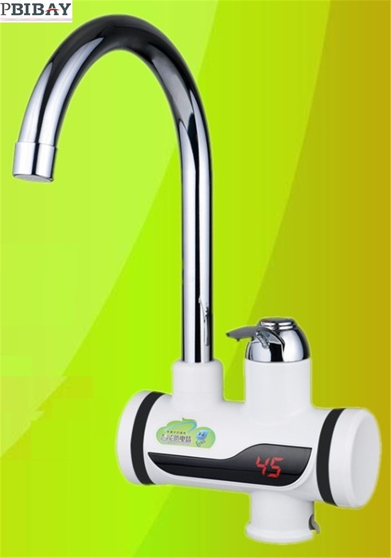 BD3000W-2,free Shipping,Digital Display Instant Hot Water Tap,Tankless Electric Faucet,Kitchen Faucet Water Heater