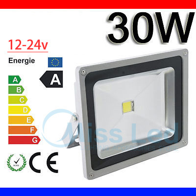 Outdoor Lighting Lights & Lighting Rational 30w 12v Flood Light Red/blue/green/ Rgb/white/warm White Waterproof Ip65 Outdoor Led Light Lamp With Ir Remote 24 Key Rain Proof To Produce An Effect Toward Clear Vision
