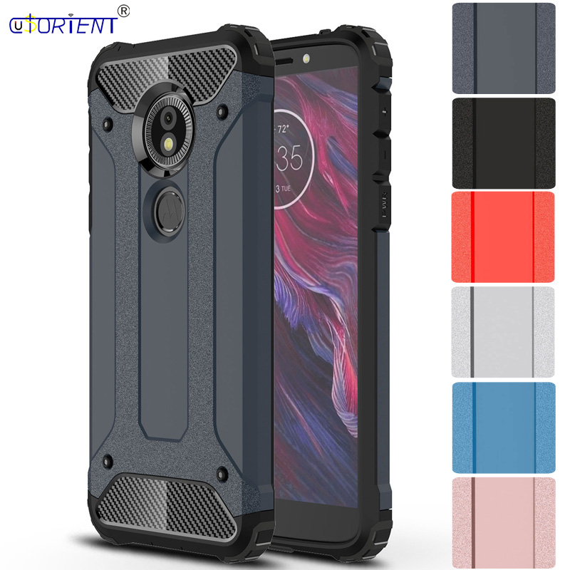 reputable site c8dcc 7d83c US $4.04 8% OFF|Fitted Case for Motorola Moto E5 E 5 XT1944 3 Case Hybrid  Armor Phone Cover for Coque Moto E5 Gen 5 XT 1944 3 Hard Back Cases-in ...