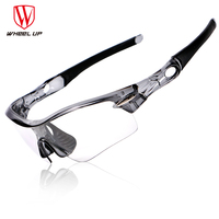 WHEEL UP Cycling Glasses Polarized Men Photochrom Cycling Goggles Outdoor Sport Sunglasses Mountain Road Bicycle Eyewear 3 Lens