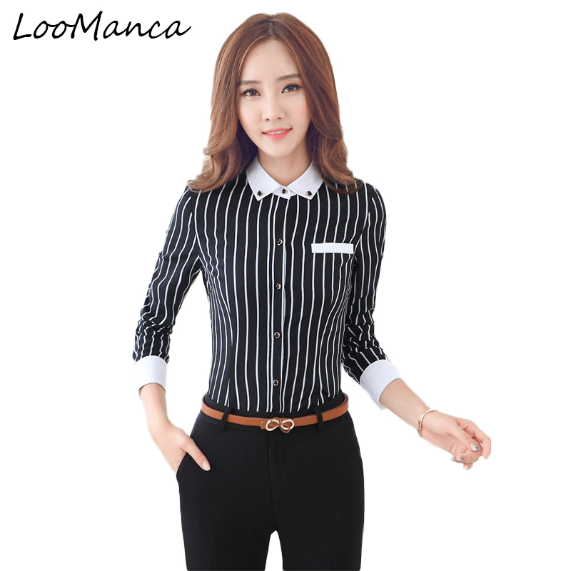 8f2688b1ac127 2019 Shirts Women Blouses Women Shirt Business Style Career Office Lady  Blouse Sleeve Blusas Professional Work