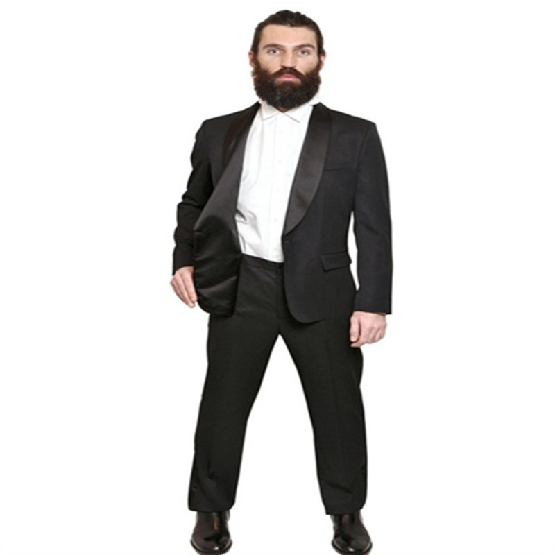 Male Formal Italian Wedding Suits for Men Slim fit two pieces ...