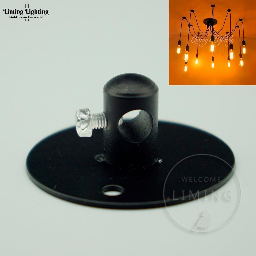 10x Fitting Chandelier 45mm Diameter Retro Lamp Holder Vintage Light Base Antique Ceiling Base Rose Hook Ring Plate Light Holder