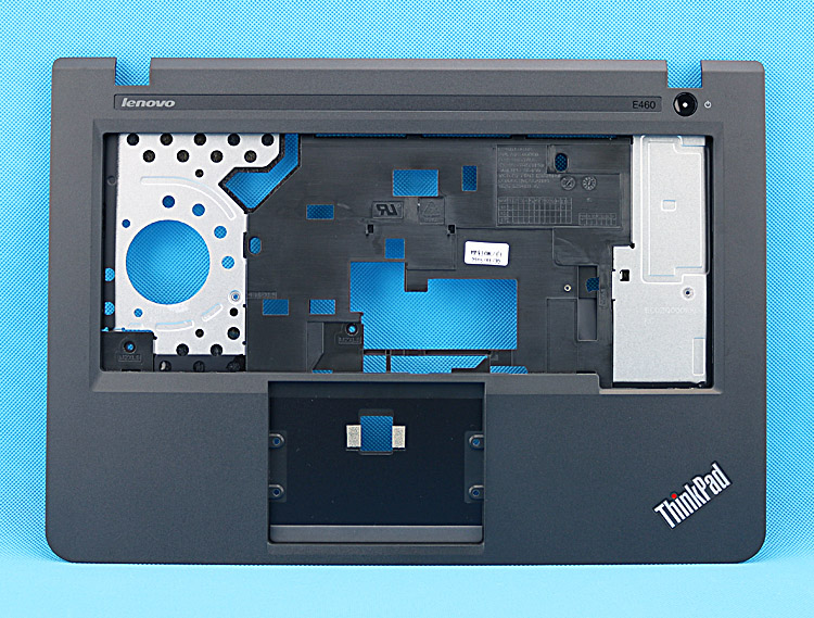 New Original for Lenovo ThinkPad E460 E465 Keyboard Bezel Palmrest Cover without Touchpad Fingerprint Hole
