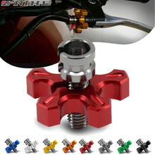 Motorcycle CNC Billet Clutch Cable Wire Adjuster Screw M8/M10 For Suzuki DRZ400S DRZ400SM DRZ400 DR250R DR250S RM125/250 RMZ250
