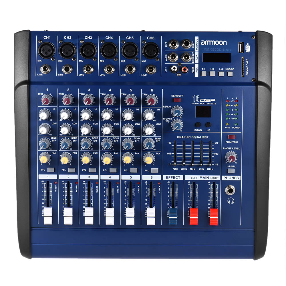 Audio Power Amplifier Output Stage Protection Boosted Lm Microphone Preamplifier With Bjt And Op Amp Youspice Ammoon Channels Mixing Console Digital Mic Line