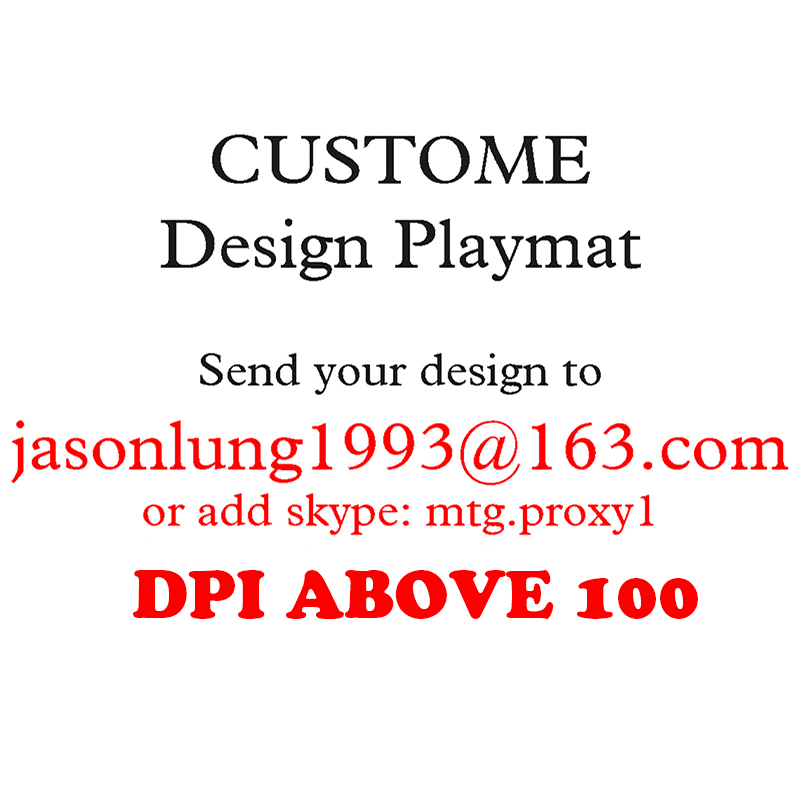 CUSTOME Print Playmat Any Image Any Size For Board Games MGT/Poke/Yugioh/Card Fight Vanguard BIG Batterfield Playmat