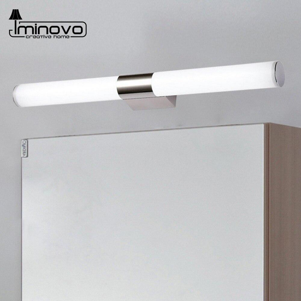 LED Wall Lamp Mirror Light Telescopic Waterproof Bathroom 6W 44CM 8W 55CM Indoor Lighting Fixture Decor Makeup Dresser 220V цена