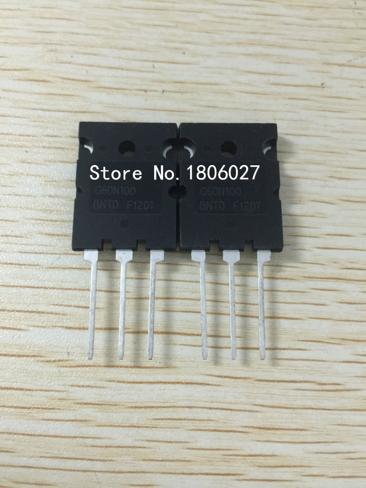 Send free 20PCS <font><b>G60N100BNTD</b></font> TO-264 New original spot selling integrated circuits image
