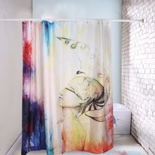 180 X 200cm Print Polyester Waterproof Fabric Abstract Pattern Design Shower Curtain Bathroom Bath