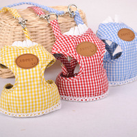 Köpek göğüs sırt paketi pet çekiş dantel göğüs sırt tipi çekiş Vip oyuncak kedi çekiş ile setleri
