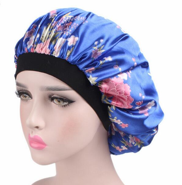 chemo wrap turban cap bandana satin sleeping bonnet cancer hat Cap Chemo bonnet 10pc/lot free ship chemo skullies satin cap bandana wrap cancer hat cap chemo slip on bonnet with ribbon 8 colors 10pcs lot free ship