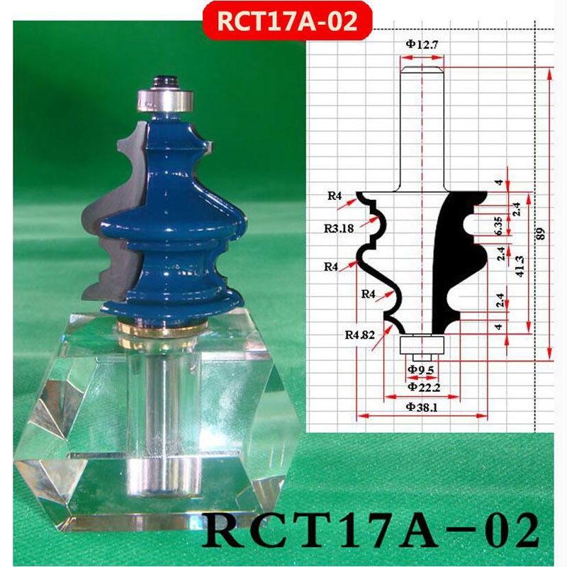 New Arrival Carbide Woodworking Router Bits, Line Shape Molding Cutter, V Groove Engraving/Milling/Cutting/Trimming (RCT17A-02)  цены