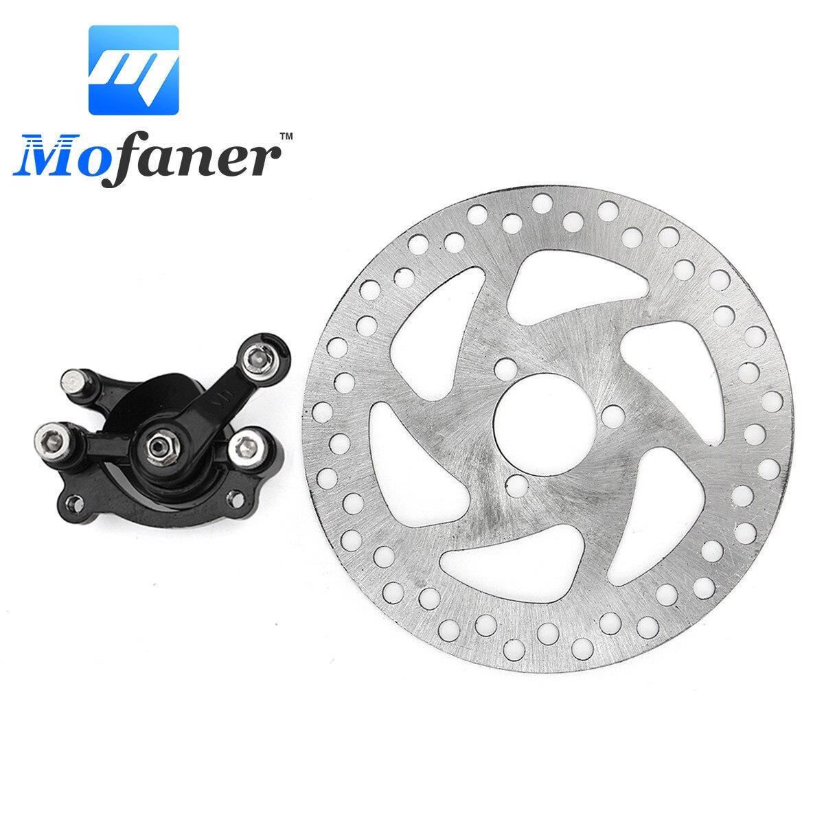 """Mofaner גז אופני עפר מיני אחורי דיסק בלם Caliper ערכת 140 מ""""מ הרוטורים חשמלי סקוטר טרקטורונים"""