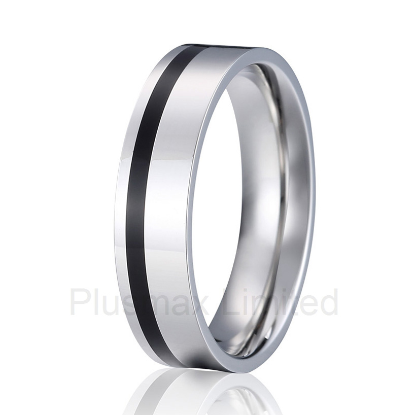 high quality Professional and reliable jewelry factory Design your own titanium wedding band finger rings custom cheap pure titanium jewelry design your own special love wedding band rings for couples