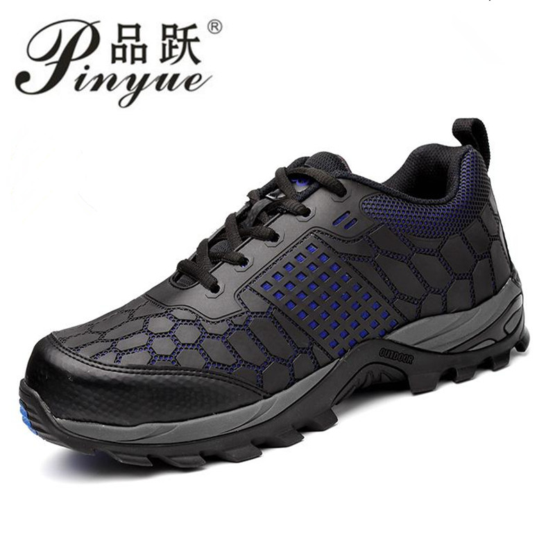 high quality big size men fashion breathable steel toe cap working safety tooling shoes non-slip puncture proof protective boots big size men casual breathable steel toe cap working safety shoes soft leather non slip tooling security boots protective zapato