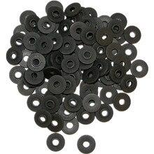 100PCS Black Plastic Shoulder Washers Binder For Tattoo Machine Parts Supply — TMP-49