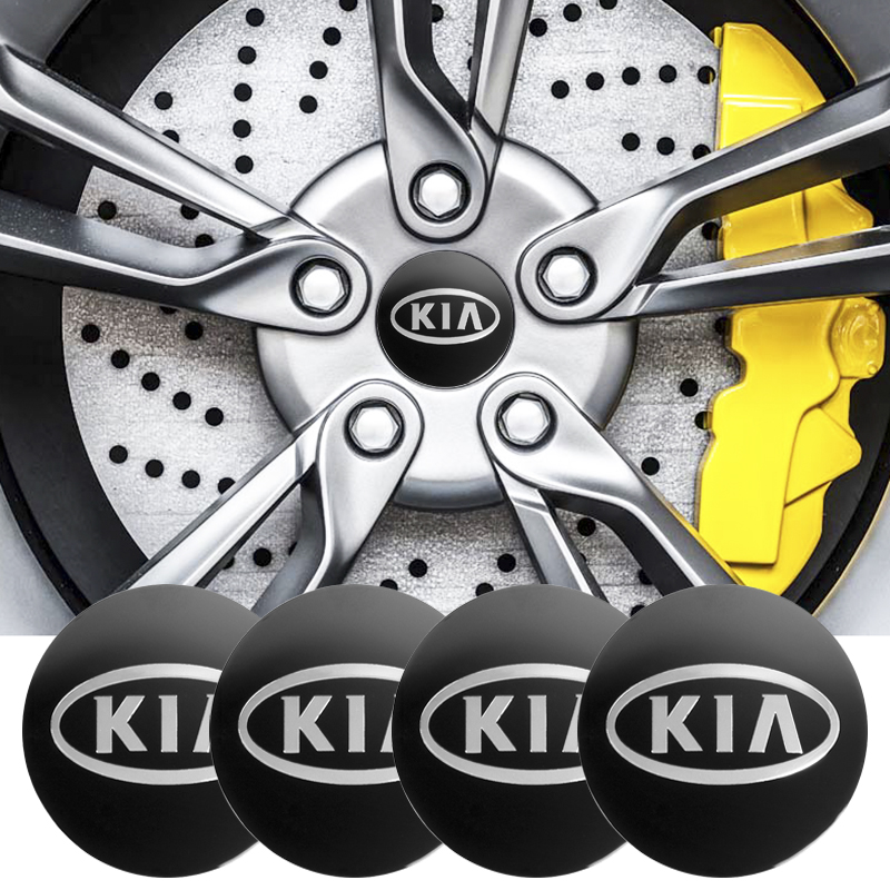 Car Styling 4pcs 56.5mm 65mm Car Wheel Center Cover Hub Cap Resin Badge Emblem Sticker For Kia Cerato Sportage R K2 K3 K5 Long Performance Life
