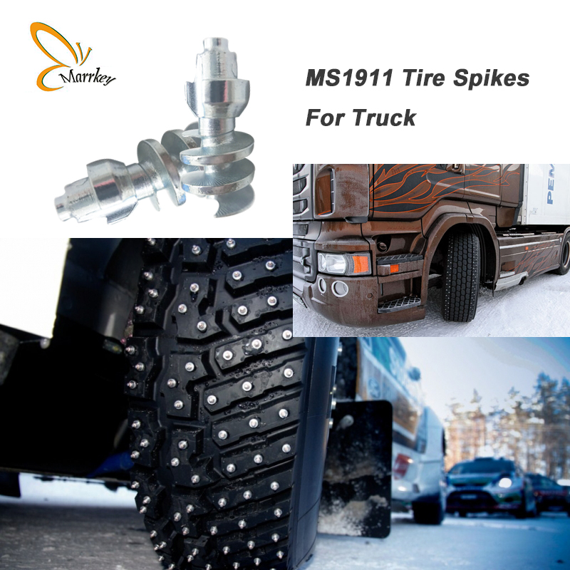 Marrkey 1000PCS 22.8mm Tire Spikes For Skid Steer Truck