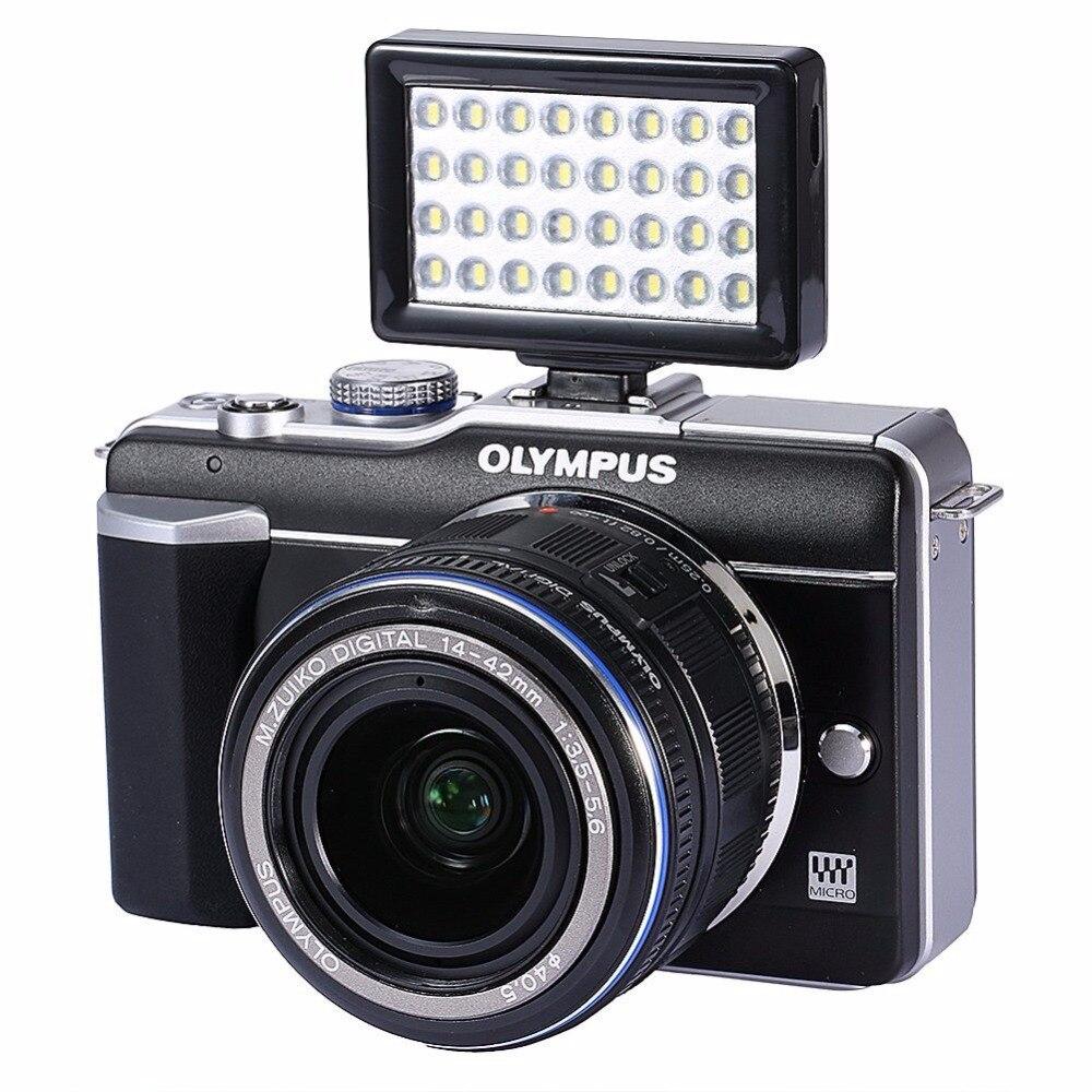 W32 Мини 32 Мощный светодиодный 5600 К видео для микро одной Камера M3 M5 Sony a6000/iPhone 6 7/Samsung/Другое Мобильные телефоны